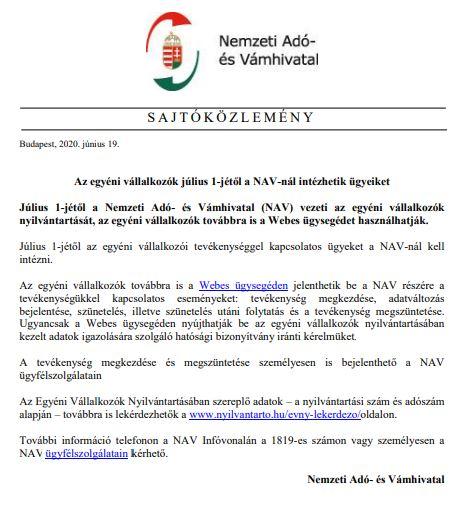 NAV_közlemény
